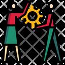 Teamwork Team Group Icon