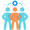 Teamwork Company Cooperation Icon