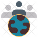 Teamwork Group Cluster Icon