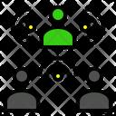 Relation Teamwork Community Icon