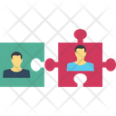 Group Jigsaw Solution Icon