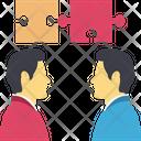 Employee Jigsaw Solution Icon