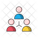 Network Group Connection Icon