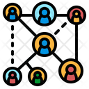 Networking Teamwork Group Icon