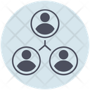 Business Teamwork Connection Icon