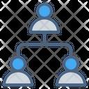 Teamwork Organization Management Icon
