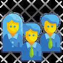Teamwork Group Partner Icon
