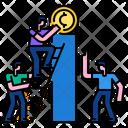 Teamwork Success Finance Icon