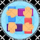 Collaboration Teamwork Cooperation Icon