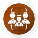 Teamwork Corporate Business Icon