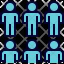 Team Teamwork Members Icon