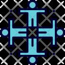 Teamwork Unity Group Icon