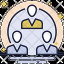 Teamwork Communication People Network Communication Icon