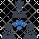 Teamwork Communication Message Icon