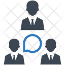 Teamwork Team Communication Icon