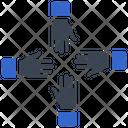 Collaboration Cooperation Team Icon