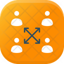Teamwork Cooperation Support Collaboration Icon