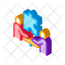 Teamwork People Outlie Icon