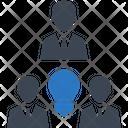Business Problem Solving Teamwork Icon