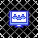 Teamwork Remote Monitoriing Teamwork Monitoring Icon