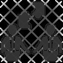 Teamwork Solution Icon