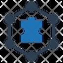 Cooperative Teamwork Solution Icon