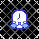 Teamwork Time Icon