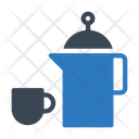 Tea Kettle Cup Icon