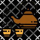 Tea Pot Chinese Icon