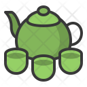 Tea Cup Teapot Icon