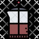 Teapot Kitchen Cooking Icon