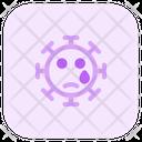 Tear Coronavirus Emoji Coronavirus Icon