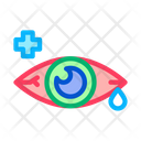 Sore Sick Tear Icon