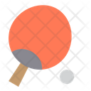Teble Tennis Ping Pong Racket Icon