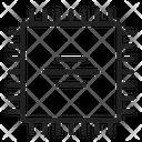 Cpu Microcontroller Tech Icon