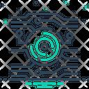 Tech Technology Digitization Icon