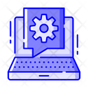 Tech Help Technical Help Computer Setting Icon