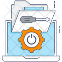 Tech Service System Tech System Configuration Icon
