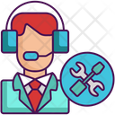 Tech Support Support Customer Care Icon
