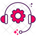 Tech Support Headphone Icon