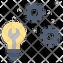 Technical Maintenance Idea Icon