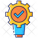 Technical Advantage Business Icon