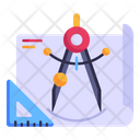 Technical Drawing Icon