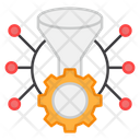Technical Funnel Digital Funnel Funnel Setting Icon