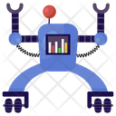 Technical Robot Icon