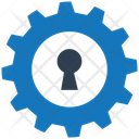 Technical Security Icon