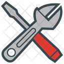 Tools Adjustable Screwdriver Icon