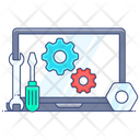 Technical Service System Setting System Configuration Icon