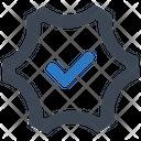 Check Gear Mark Icon