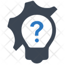 Question Gear Business Icon